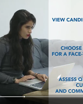 "Next Phase's video-based recruitment technology can reduce the need for unneccesary first-stage interviews, enabling hiring managers to devote more time to the candidates who demonstrate the best ""team fit""."